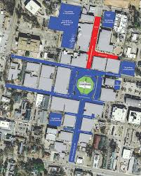 Ole Miss Campus Map The Square In Oxford Is Double Decker Ready The Oxford Eagle