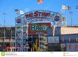 Las Vegas Motor Speedway Map by The Strip At Las Vegas Motor Speedway Editorial Stock Image