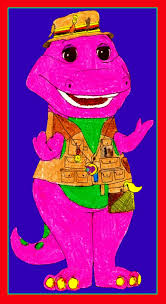 barney in his fishing by bestbarneyfan on deviantart