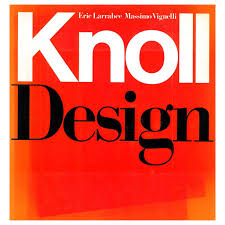 knoll design book for sale at 1stdibs