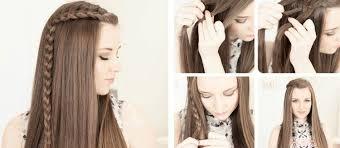 Einfache Frisuren Selber Machen Offene Haare wunderschöne flechtfrisuren in 10 minuten 26 diy ideen