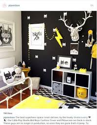 Batman Room Decor Get Inspired To Create A Trendy Bedroom For Boys With These