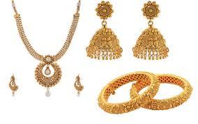 various designs of indian gold jewelry antiquariat jaipur