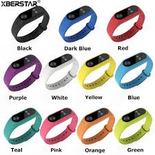 replacement silicone wrist bracelet images Silicone wrist band watchband fitness bracelet replacement strap jpg