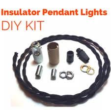 Pendant Light Kits Diy Glass Insulator Pendant Light Kit Diy Insulator Lighting