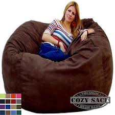 bean bag chairs by cozy sack factory direct 5 u0027 cozy foam filled