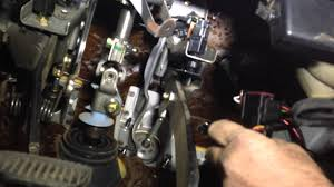 fitting a steinbauer power pedal to a nissan navara d40 youtube