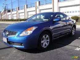 altima nissan 2009 2009 azure blue metallic nissan altima 2 5 s coupe 25581160