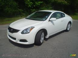 Nissan Altima Coupe 2010 - 2010 nissan altima 2 5 s coupe in winter frost white 106188