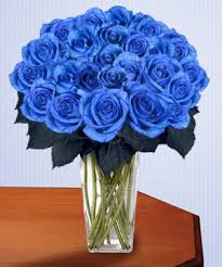blue roses blue bouquet in surfside fl bal harbour flowers