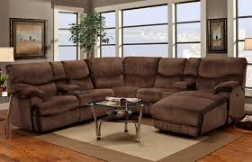 franklin 597 casual reclining sectional sofa with right side
