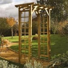 Trellis Arches Garden Rowlinson Wooden Trellis Garden Arch Gardens Garden Arches And