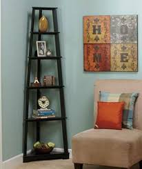 Lyss 5 Tier Corner Ladder by Danya B 5 Tier Espresso Corner Ladder Display Bookshelf Five Tier