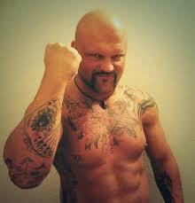 image bad bones with his u0027 u0027bad u0027 u0027 tattoos jpg pro wrestling