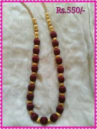 necklace making chains images Long chain silk thread silk thread necklace manufacturer from jpeg