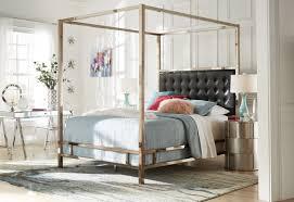 willa arlo interiors alek upholstered canopy bed u0026 reviews wayfair