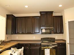 Color Schemes For Kitchens With Dark Cabinets Kitchen Color Schemes With Dark Cabinets Cherry Wood Ideas Small