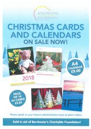 calendars for sale calendars and christmas cards for sale at barchester care homes