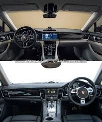 porsche 2017 2017 porsche panamera vs 2014 porsche panamera in images