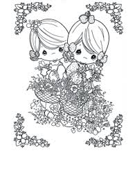 free printable precious moments coloring pages kids
