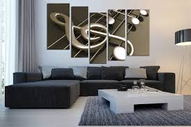 5 piece canvas wall art musical notes canvas photography music