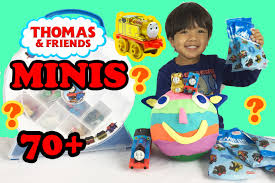 thomas and friends birthday party invitations thomas and friends mini blind bag opening surprise toy trains