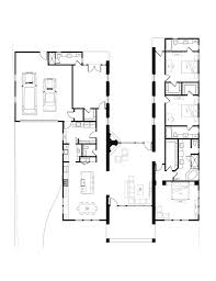 Modern Bungalow House Plans Single Story Modern House Plans Mid Century Modern House Design