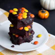 reese s halloween pieces brownies