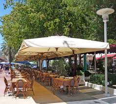 Big Patio Umbrellas by Garden Enchanting Outdoor Patio Decor Ideas With Patio Umbrellas