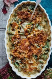 cheddar green bean casserole healthy seasonal recipes