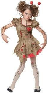 Scary Baby Doll Halloween Costume Voodoo Dolly Costume Costumes Halloween Costumes