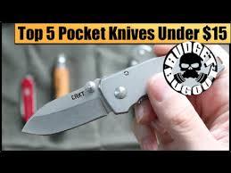top 5 best pocket knives under 15 best budget everyday carry
