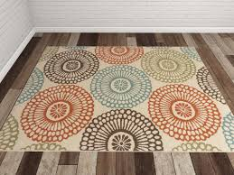 Brown And Beige Area Rug Bungalow Rose Douane Orange Brown Area Rug U0026 Reviews Wayfair