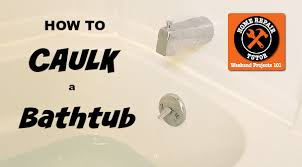 Best Caulk For Bathtub How To Caulk A Bathtub Beautiful Results Home Repair Tutor
