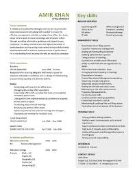 Office Assistant Resume Example by Best Of Administrative Resume Examples