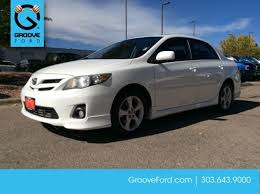toyota corolla used for sale used 2012 toyota corolla s for sale denver co f1232676a
