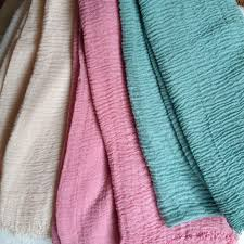 choose color high quality soft cotton hijab crinkle scarf long size muslim