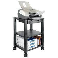 meuble pour ordinateur portable et petit meuble pour ordinateur console pour ordinateur et imprimante