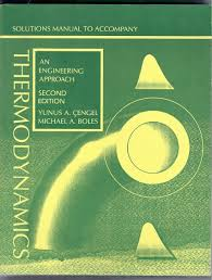 buy thermodynamics solutions manual an engineering approach book