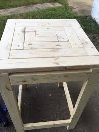knock down picnic table plans more like home day 22 build a craftsman style end table