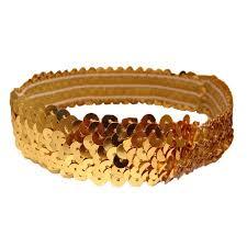 gold headband kenz laurenz sequin headband headbands sparkly hair