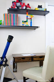 Wall Mounted Desk Shelf These 18 Diy Wall Mounted Desks Are The Perfect Space Saving Solution
