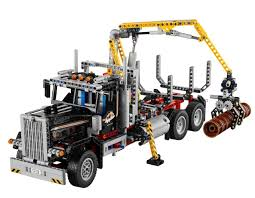 lego technic amazon com lego technic 9397 logging truck toys u0026 games