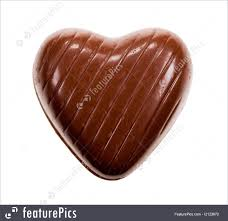 heart shaped chocolate heart shaped chocolate image
