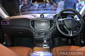 maserati price interior maserati ghibli launched in malaysia from rm538 800 image 247866
