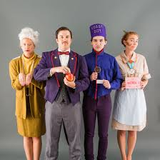 how to be the cast of grand budapest hotel for halloween