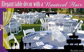 Wedding Decoration Ideas Drop Anchor With Nautical Themed Wedding Decoration Ideas