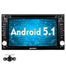 android in dash pumpkin android 5 1 car stereo in dash 2 din gps