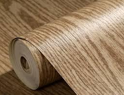 embossed modern vinyl wood oak pattern wallpaper roll tv unit