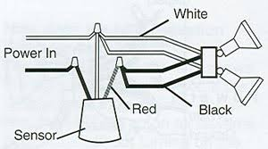 outside security light wiring diagram wiring diagram and